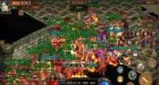 高级1.95皓月合击手游下载的战士成型独立挑起boss攻略分享